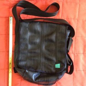 Handbags - Upcycled recycled bike tube tire bag purse